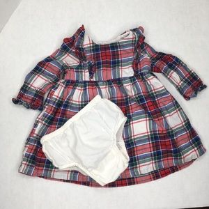 BabyGap Plaid Flannel Dress w/ Bloomers